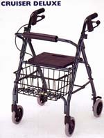 Foldable Four Wheeled Walkers
