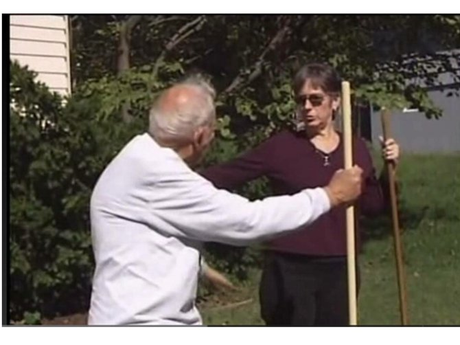 Lawrence Journal-World video: Don't break your back raking leaves!
