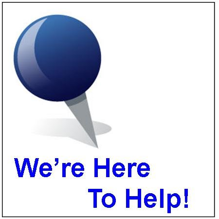 1. Need Help?  Call us anytime!
