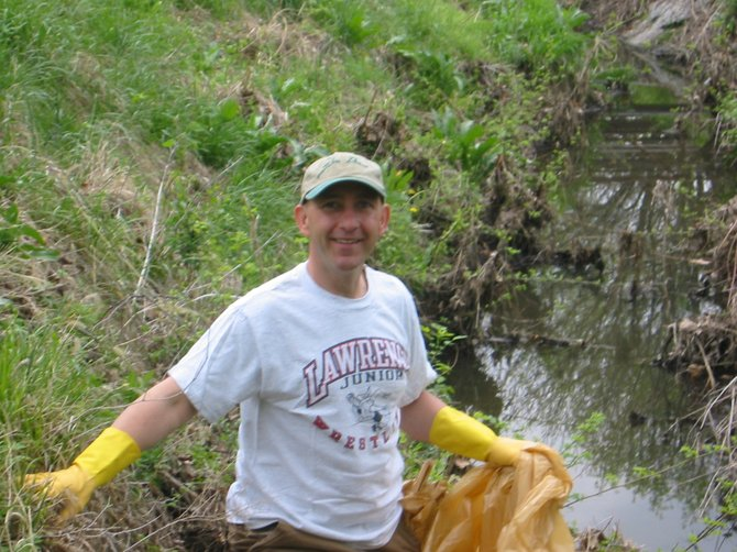 Brook Creek Park Cleanup - Spring 2009