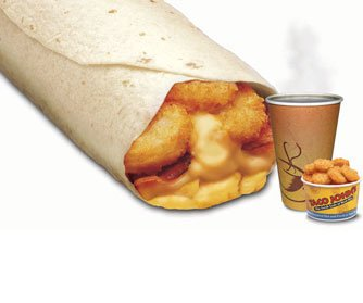 B1 Meat & Potato Breakfast Burrito