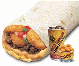 B3 Scrambler Burrito