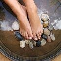 Warm Stone Pedicure