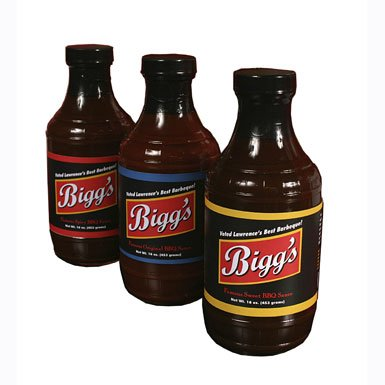 Bigg's Barbeque Sauce is Available For Purchase