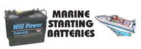 Marine Starting Batteries