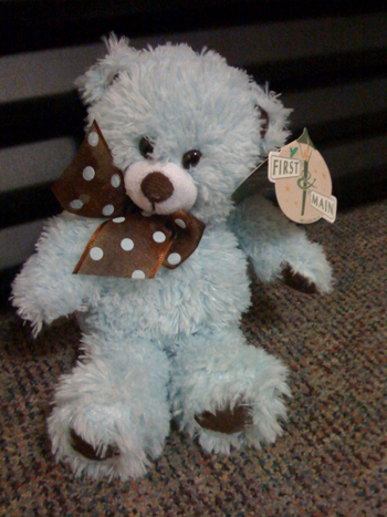 Blue Berry Bear