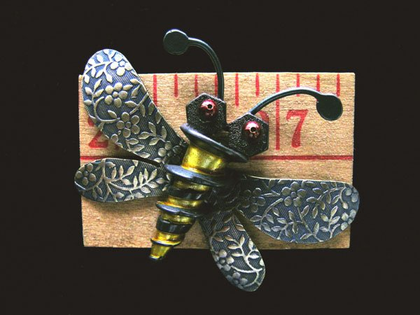 Carpenter Bee Pin (#234)
