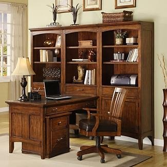 Falls Village Desk And Bookcase