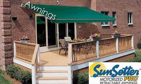 SunSetter Awnings | Kaw Valley Decks | Custom Decks, Deck ...