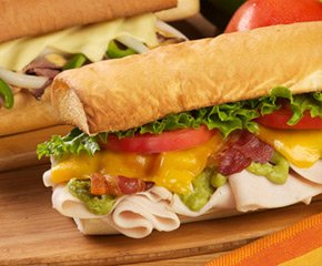 California Turkey Club Toasted Sub
