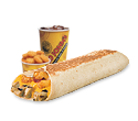 Combo #6 - Grilled Burrito