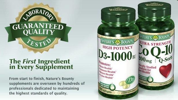 Nature's Bounty Natural Vitamins