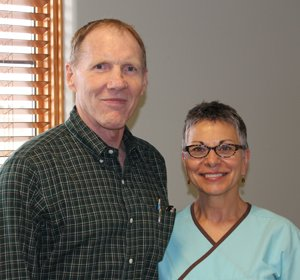 Dr. Rod Barnes, MD and Joni Lawrence, RN
