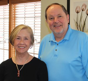 Steven Bruner, MD, and Jan Potts