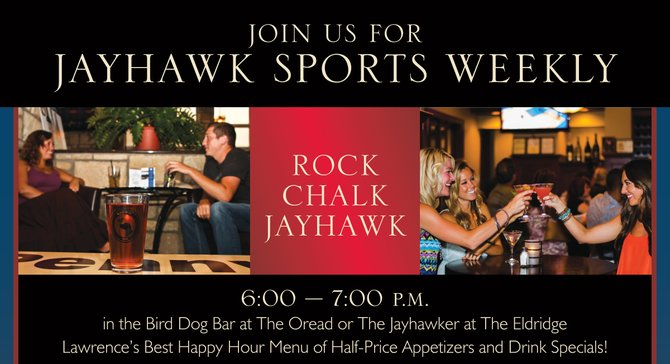 Jayhawk Sports Weekly Happy Hour!