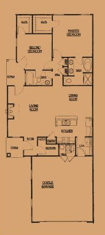 Camson Townhomes: 2 Bedroom