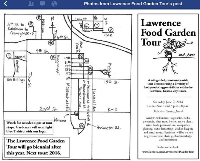 2014 Lawrence Food Garden Tour