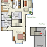 The Marigold - 2 bed/ 2 bath