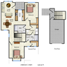 The Tulip - 2 bed/ 2 bath