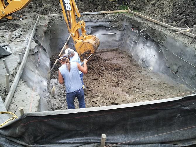 Step 2, Excavation