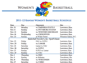 Striking image intended for ku basketball schedule printable