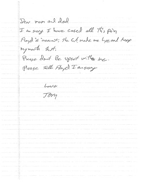 tom bledsoe suicide letter to parents / ljworld