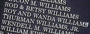 Even though Dean Smiths name is on the building (Dean E. Smith Center), Roy and Wanda Williams have their name engraved in the Smith Center on a board listing donors to the Educational Fund, Inc., the Tar Heels equivalent of KUs Williams Fund. The KU coach is pondering a move to become the UNC coach.