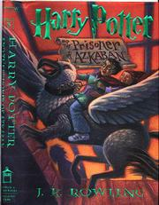 """Prisoner of Azkaban"" book jacket"