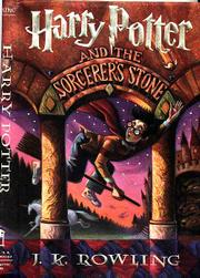 """Harry Potter and the Sorcerer&squot;s Stone"" book jacket"