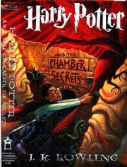 """Harry Potter and the Chamber of Secrets"" book jacket"