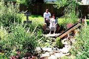 Chuck and Lisa Shaw have spent six years turning their back yard into a paradise.