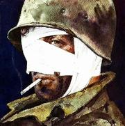 Joseph Hirschs painting Hi Visibility Wrap is featured in Brian Lankers film They Drew Fire: Combat Artists of WWII.