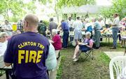 Clinton Township threw a picnic Saturday to thank its volunteer firefighters and to celebrate the completion of a new fire station.