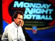 Comedian Dennis Miller will join Monday Night Football as a commentator at 6 p.m. tonight on ABC. The preseason Hall of Fame Game features the San Francisco 49ers and the New England Patriots.