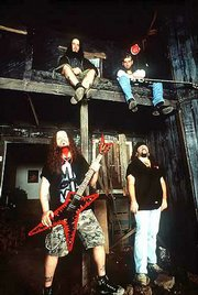 """Pantera recently released """"Reinventing the Steel."""" The heavy metal band is planning on prowling concert stages well into next year. The band played Wednesday at Standstone Amphitheatre for Ozzfest."""