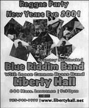 Blue Riddim nation   Lawrence com