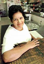 Martha Sandoval, filed a lawsuit in 1997 challenging the English only driver's license test, is seen June 4, 1998, in Mobile, Ala.