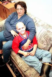 A community chili supper has been organized in Baldwin to raise funds for Rita Guy and her son, Jody, 8. Jody, a second-grader, was diagnosed with leukemia in November and has been undergoing chemotherapy. The benefit also will feature a silent auction, karaoke and children's activities.