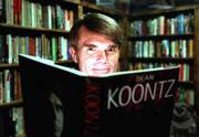 "A theme of Dean Koontz&squot;s new novel, ""From the Corner of His Eye,"" is ""how a small act of kindness or meanness can echo through other lives and grow into a great act of courage or a great act of evil in the lives of other people that we may never know,"" the best-selling author says."