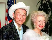 "Dale Evans, a singer-actress who acted with husband Roy Rogers in popular Westerns and co-wrote their theme song ""Happy Trails to You,"" died Wednesday at 88. Roy Rogers died in 1998."