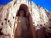 The world's tallest statue of Buddha, measuring 175 feet in Bamiyan, Afghanistan, is in danger of being torn down. Supreme Commander of the Taliban Mullah Mohammad Omar has ordered the destruction of all statues in Afghanistan. This statue carved into the side of a mountain was built in the 5th century.