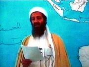 Osama bin Laden used a family video to praise the suicide bombers who attacked the USS Cole.