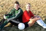 Free State senior Lauren Wilkinson, left, and Lawrence High junior Sarah Butler and their teams are preparing for upcoming season. City soccer previews on page 3C.