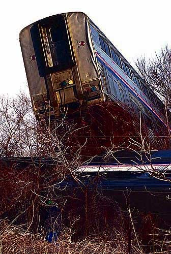 a report on the derailment of a train carrying 210 people in rural iowa Oil shipments by rail drop vigilance remains nick it takes just one train derailment to create a a may report from the association of.