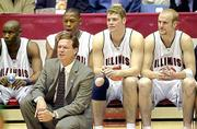Illinois coach Bill Self, seen coaching during the weekend NCAA Midwest Regional in Dayton, Ohio, knows a thing or two about Kansas after spending a season there as an assistant. The Illini will face the Jayhawks approximately 9:30 p.m. Friday in San Antonio.