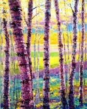 """""""In Living Color"""" is among the paintings by Lawrence artist Debra Clemente on display in """"Debra Clemente Impressionism Alfresco"""" at the Phoenix Gallery Topeka, 2900-F Oakley, Brookwood Center, Topeka. The exhibit opens Friday and runs through May 15."""