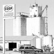 Business continues at Farmers Cooperative Assn.'s south elevator in Lawrence as the spring season looms.