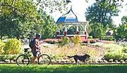 South Park, above, and its infamous gazebo are part of 3,209 acres under the management and control of the city's Parks and Recreation Department.