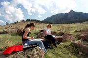 Green space is readily accessible in Boulder, where the city and