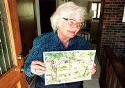 Joyce Schild, one of the founders of Lawrence's Art in the Park, will show some of her watercolors at this year's event.